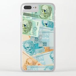 Real, dying for corruption. Clear iPhone Case
