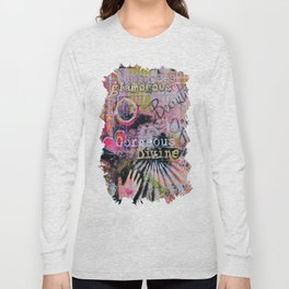 Beautiful Girl Long Sleeve T-shirt
