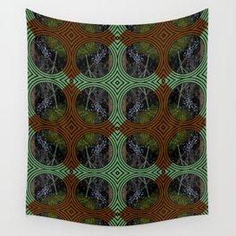 Nature Portals Pattern Wall Tapestry