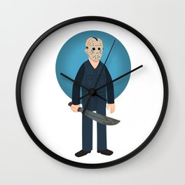 Jason Voorhees Friday the 13th Part 5 (aka Roy Burns) Wall Clock