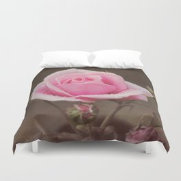Clothed in Nature's Jewels Duvet Cover