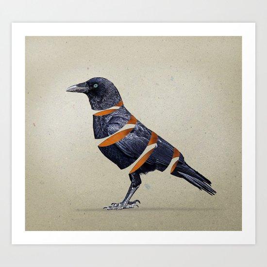 Raven Maker 02 Art Print