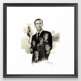 Mad Men Framed Art Print