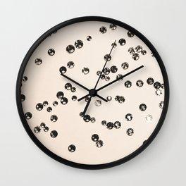 Crystal Stones #1 #shiny #decor #art #society6 Wall Clock