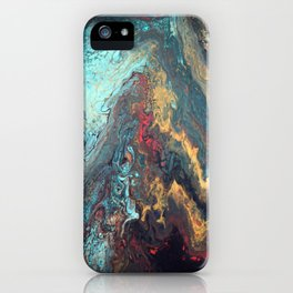 Mermaid Muse and Misty Memories iPhone Case