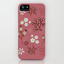Meadow vibes iPhone Case