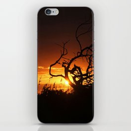 Fire in the Sky iPhone Skin