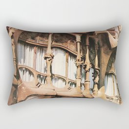 Antoni Gaudi Exhibition poster 1979 Rectangular Pillow
