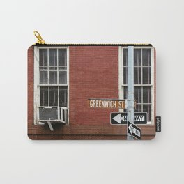 Greenwich Street in New York Carry-All Pouch