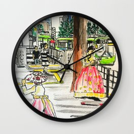 Day in Seoul Wall Clock