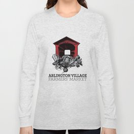 Arlington Village Farmers Market Long Sleeve T-shirt