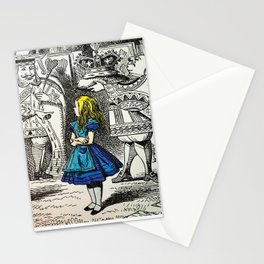 Blonde Girl Called Alice Stationery Cards