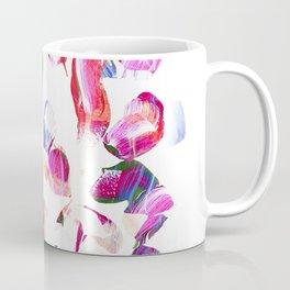 Graffiti Pink and blue Brush stroke pattern Coffee Mug