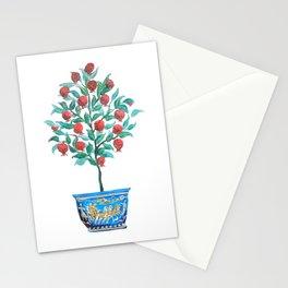 Persephone- Pomegranate Tree on White Stationery Cards