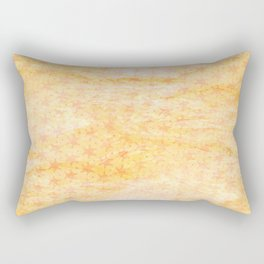 Rain of stars in yellow Rectangular Pillow