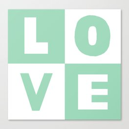 Love Mint Canvas Print