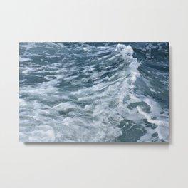 That Wave Metal Print