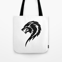 Tribal Wolf Tote Bag