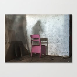 Impasse - Chair Canvas Print