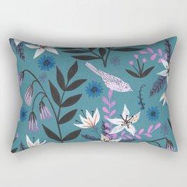 Hidden Critters Pattern Rectangular Pillow