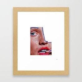 ABSENCE (When You're Gone) Framed Art Print