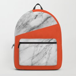 Marble and Flame Color Backpack