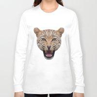 jaguar Long Sleeve T-shirts featuring jaguar by fizziponi