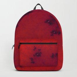 Red Fractal Backpack