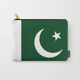The National Flag of Pakistan - Authentic Version Carry-All Pouch
