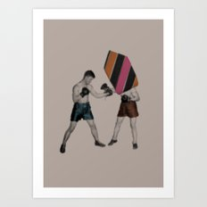Mixed Martial Art Art Print