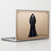 valar morghulis Laptop & iPad Skins featuring Mandos by wolfanita