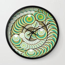 Eye of Infinity Wall Clock