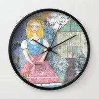 cinderella Wall Clocks featuring Cinderella by inara77