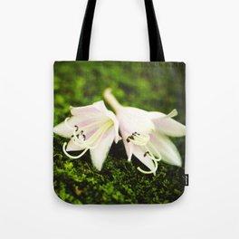 Plantain Lilies Tote Bag