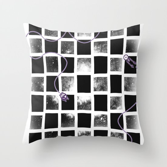 Star Cluster Throw Pillow