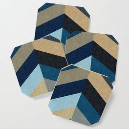 Triangular composition XX Coaster