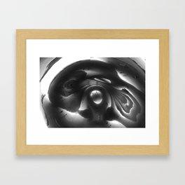 the bean Framed Art Print