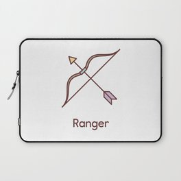 Cute Dungeons and Dragons Ranger class Laptop Sleeve