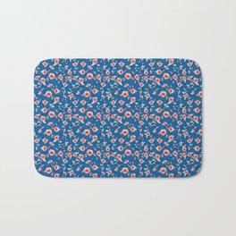 Bindweed seamless pattern Bath Mat