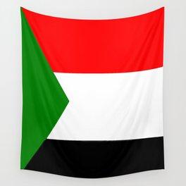 flag of sudan 2 -sudan,السودان ,sudanese,nubia,khartoum,omdurman Wall Tapestry