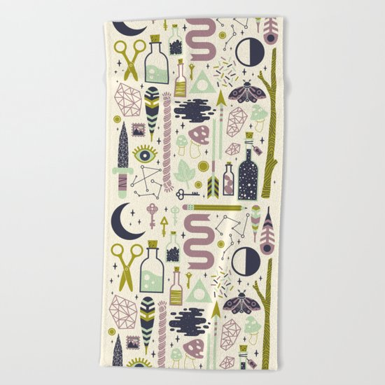 The Witch's Collection Beach Towel