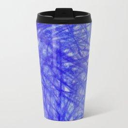 Ophelia Blue Scribble Travel Mug