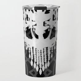 Chandelier Silhouette & Imperial Trellis Travel Mug