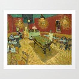 Van Gogh - The Night Cafe, 1888 Art Print