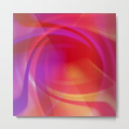 Colorful Abstract Background Metal Print
