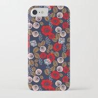 andreas preis iPhone & iPod Cases featuring Butterflies in the Garden by Andrea Lauren Design