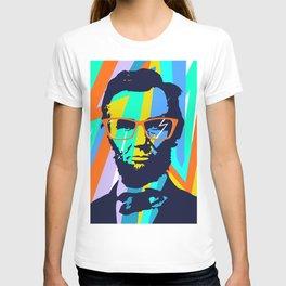 HIPSTER LINCOLN POP ART T-shirt