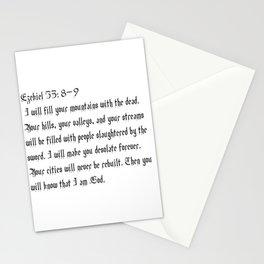 Ezekiel 35:8-9 Stationery Cards