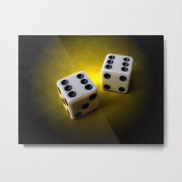 Roll the dice III Metal Print