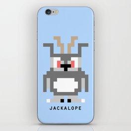 8 Bit Jackalope iPhone Skin